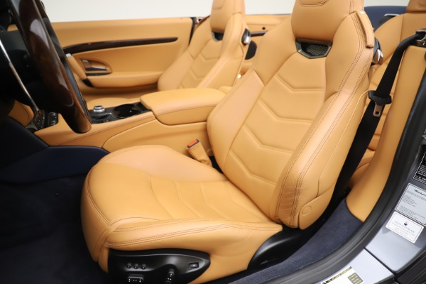Used 2018 Maserati GranTurismo Sport Convertible for sale $99,900 at Bentley Greenwich in Greenwich CT 06830 21