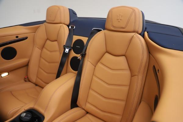 Used 2018 Maserati GranTurismo Sport Convertible for sale $99,900 at Bentley Greenwich in Greenwich CT 06830 24