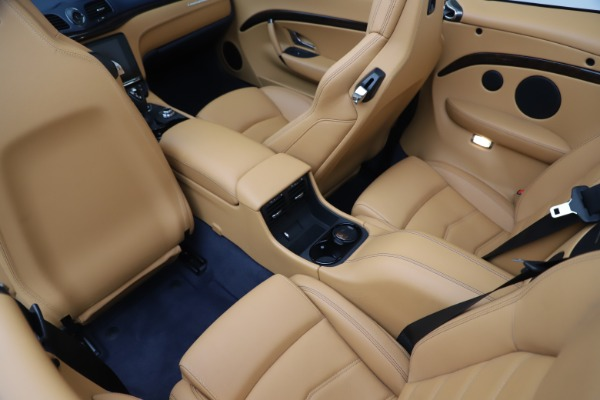 Used 2018 Maserati GranTurismo Sport Convertible for sale $99,900 at Bentley Greenwich in Greenwich CT 06830 25