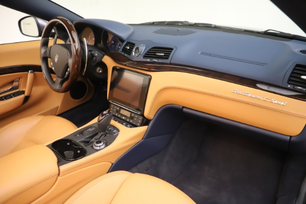 Used 2018 Maserati GranTurismo Sport Convertible for sale Sold at Bentley Greenwich in Greenwich CT 06830 26
