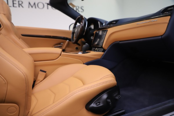 Used 2018 Maserati GranTurismo Sport Convertible for sale Sold at Bentley Greenwich in Greenwich CT 06830 27