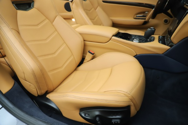 Used 2018 Maserati GranTurismo Sport Convertible for sale Sold at Bentley Greenwich in Greenwich CT 06830 28