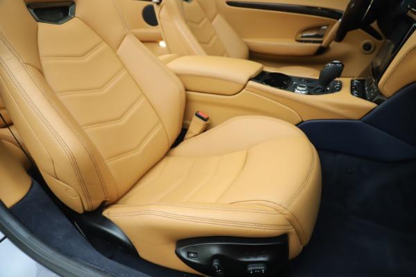 Used 2018 Maserati GranTurismo Sport Convertible for sale $99,900 at Bentley Greenwich in Greenwich CT 06830 28