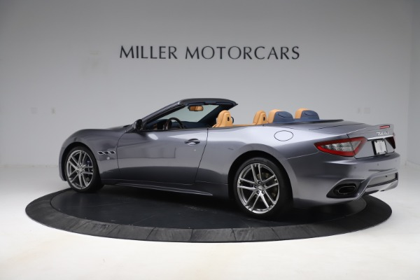 Used 2018 Maserati GranTurismo Sport Convertible for sale Sold at Bentley Greenwich in Greenwich CT 06830 4