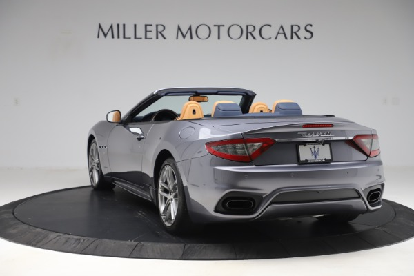 Used 2018 Maserati GranTurismo Sport Convertible for sale Sold at Bentley Greenwich in Greenwich CT 06830 5
