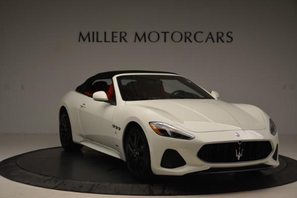 New 2018 Maserati GranTurismo Sport Convertible for sale Sold at Bentley Greenwich in Greenwich CT 06830 12