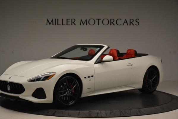 New 2018 Maserati GranTurismo Sport Convertible for sale Sold at Bentley Greenwich in Greenwich CT 06830 14
