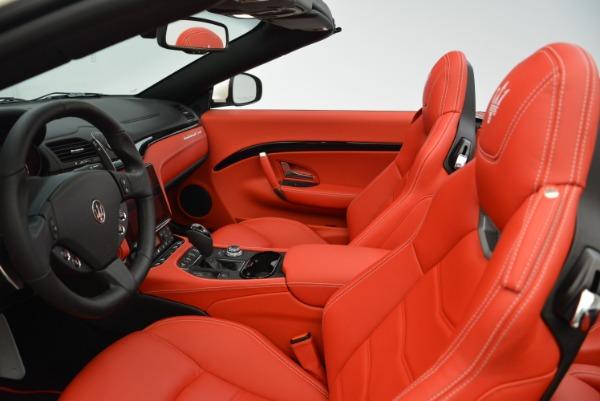 New 2018 Maserati GranTurismo Sport Convertible for sale Sold at Bentley Greenwich in Greenwich CT 06830 25