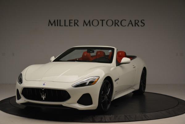 New 2018 Maserati GranTurismo Sport Convertible for sale Sold at Bentley Greenwich in Greenwich CT 06830 1