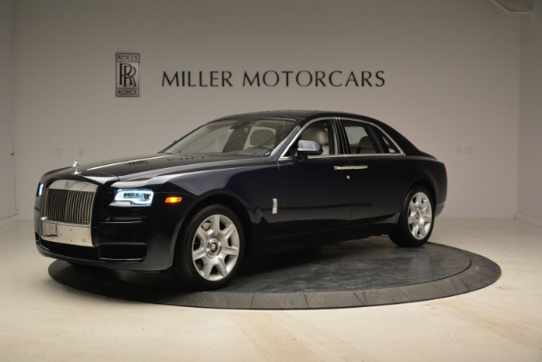 Used 2015 Rolls-Royce Ghost for sale Call for price at Bentley Greenwich in Greenwich CT 06830 2