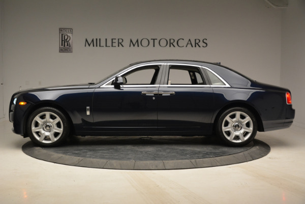 Used 2015 Rolls-Royce Ghost for sale Call for price at Bentley Greenwich in Greenwich CT 06830 3