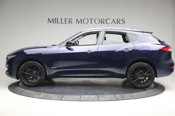 New 2018 Maserati Levante S Q4 GranLusso for sale Sold at Bentley Greenwich in Greenwich CT 06830 3