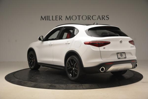 New 2018 Alfa Romeo Stelvio Ti Sport Q4 for sale Sold at Bentley Greenwich in Greenwich CT 06830 5