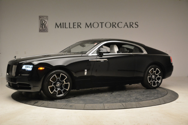 Used 2017 Rolls-Royce Wraith Black Badge for sale Sold at Bentley Greenwich in Greenwich CT 06830 2