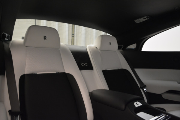 Used 2017 Rolls-Royce Wraith Black Badge for sale Sold at Bentley Greenwich in Greenwich CT 06830 27