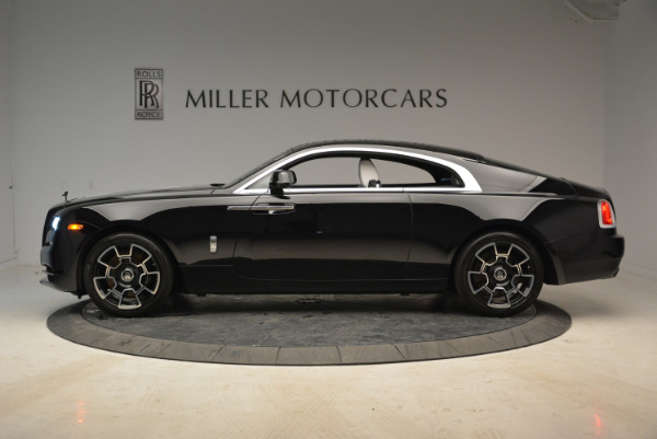 Used 2017 Rolls-Royce Wraith Black Badge for sale Sold at Bentley Greenwich in Greenwich CT 06830 3