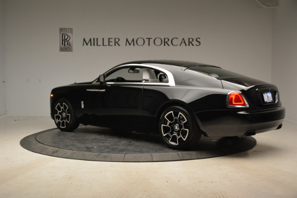 Used 2017 Rolls-Royce Wraith Black Badge for sale Sold at Bentley Greenwich in Greenwich CT 06830 4