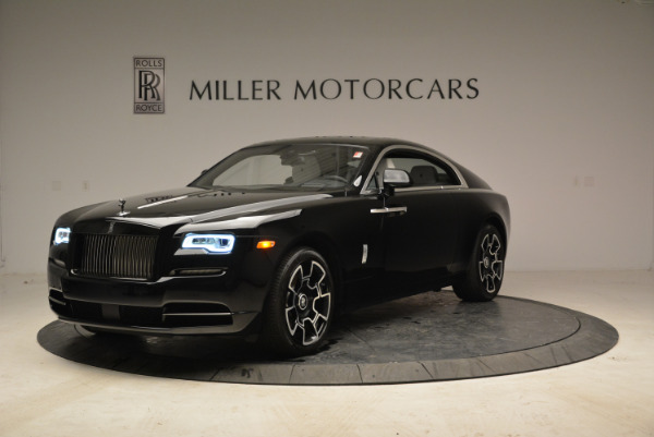 Used 2017 Rolls-Royce Wraith Black Badge for sale Sold at Bentley Greenwich in Greenwich CT 06830 1