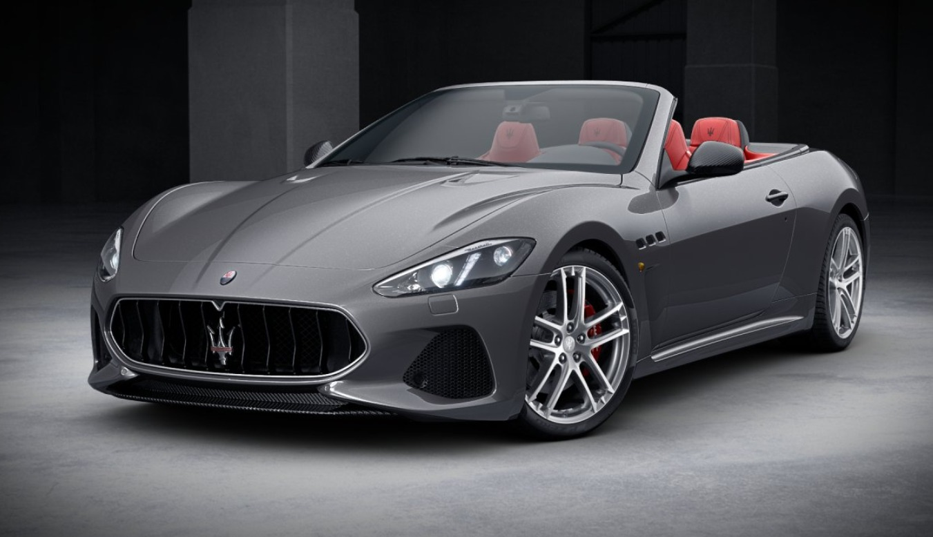 New 2018 Maserati GranTurismo MC Convertible for sale Sold at Bentley Greenwich in Greenwich CT 06830 1