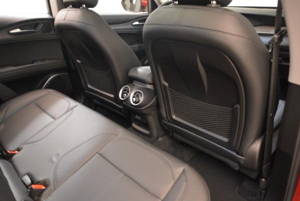 New 2018 Alfa Romeo Stelvio Ti Q4 for sale Sold at Bentley Greenwich in Greenwich CT 06830 22