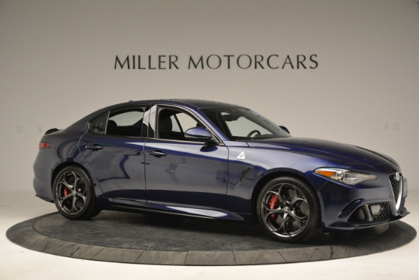 New 2018 Alfa Romeo Giulia Quadrifoglio for sale Sold at Bentley Greenwich in Greenwich CT 06830 10