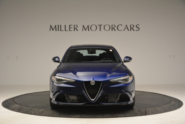 New 2018 Alfa Romeo Giulia Quadrifoglio for sale Sold at Bentley Greenwich in Greenwich CT 06830 12