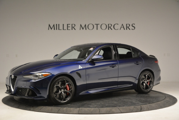 New 2018 Alfa Romeo Giulia Quadrifoglio for sale Sold at Bentley Greenwich in Greenwich CT 06830 2