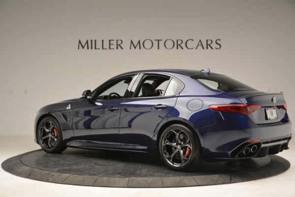 New 2018 Alfa Romeo Giulia Quadrifoglio for sale Sold at Bentley Greenwich in Greenwich CT 06830 4