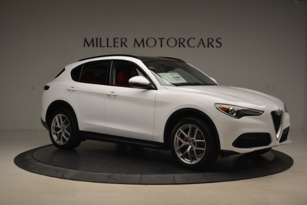 New 2018 Alfa Romeo Stelvio Ti Sport Q4 for sale Sold at Bentley Greenwich in Greenwich CT 06830 10
