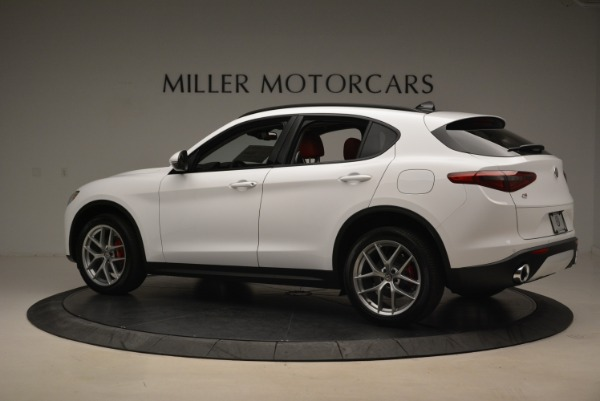 New 2018 Alfa Romeo Stelvio Ti Sport Q4 for sale Sold at Bentley Greenwich in Greenwich CT 06830 4