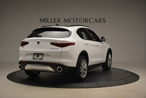 New 2018 Alfa Romeo Stelvio Ti Sport Q4 for sale Sold at Bentley Greenwich in Greenwich CT 06830 7