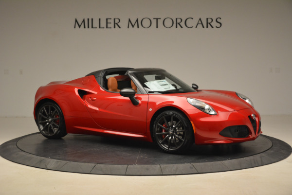 New 2018 Alfa Romeo 4C Spider for sale Sold at Bentley Greenwich in Greenwich CT 06830 14