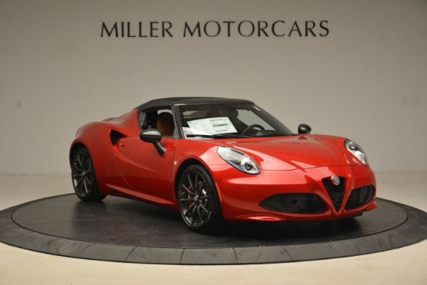 New 2018 Alfa Romeo 4C Spider for sale Sold at Bentley Greenwich in Greenwich CT 06830 17