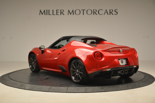 New 2018 Alfa Romeo 4C Spider for sale Sold at Bentley Greenwich in Greenwich CT 06830 8