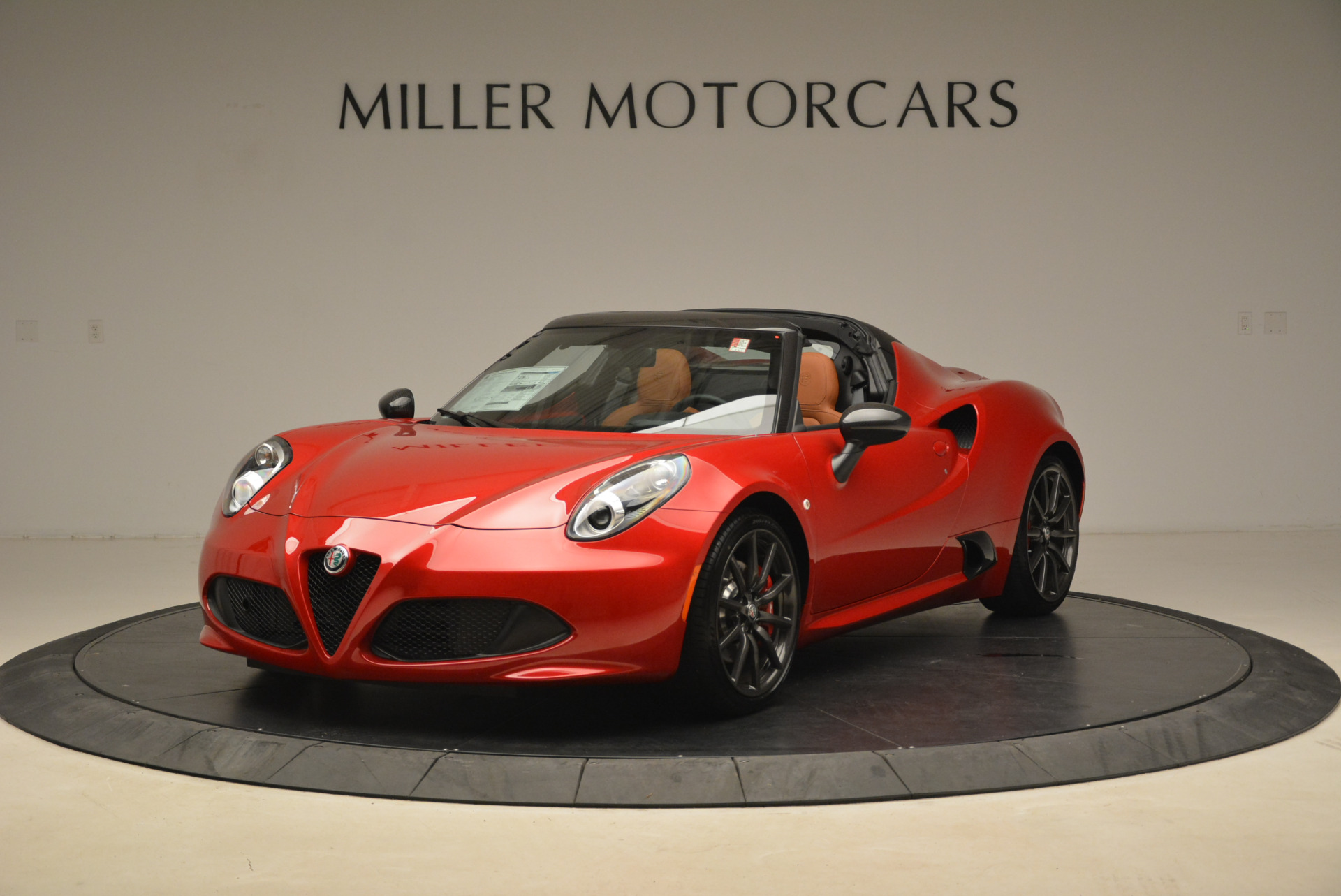 New 2018 Alfa Romeo 4C Spider for sale Sold at Bentley Greenwich in Greenwich CT 06830 1