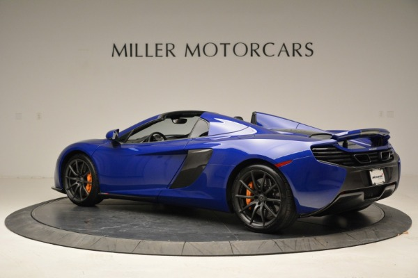 Used 2016 McLaren 650S Spider for sale Sold at Bentley Greenwich in Greenwich CT 06830 4