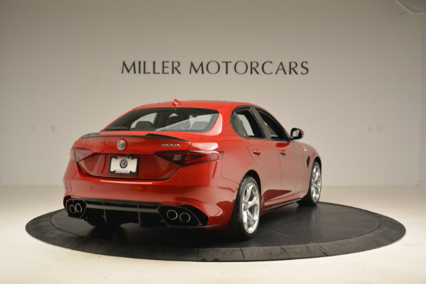 New 2018 Alfa Romeo Giulia Quadrifoglio for sale Sold at Bentley Greenwich in Greenwich CT 06830 7