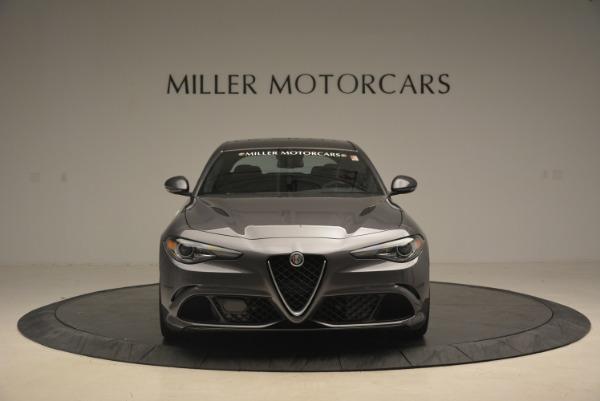 New 2018 Alfa Romeo Giulia Quadrifoglio for sale Sold at Bentley Greenwich in Greenwich CT 06830 12