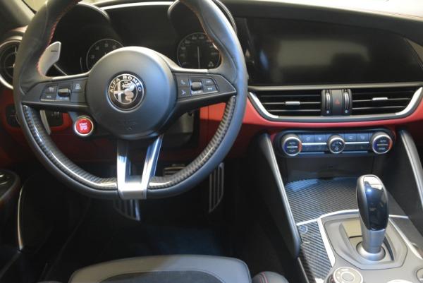 New 2018 Alfa Romeo Giulia Quadrifoglio for sale Sold at Bentley Greenwich in Greenwich CT 06830 20