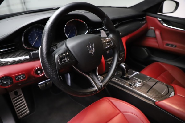Used 2018 Maserati Quattroporte S Q4 GranSport for sale $67,900 at Bentley Greenwich in Greenwich CT 06830 13