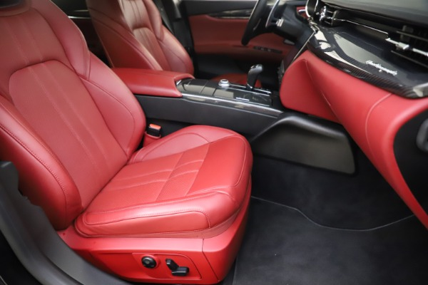 Used 2018 Maserati Quattroporte S Q4 GranSport for sale $67,900 at Bentley Greenwich in Greenwich CT 06830 24