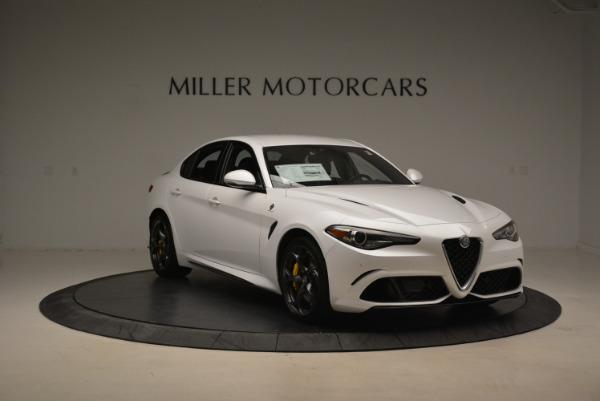 New 2018 Alfa Romeo Giulia Quadrifoglio for sale Sold at Bentley Greenwich in Greenwich CT 06830 11