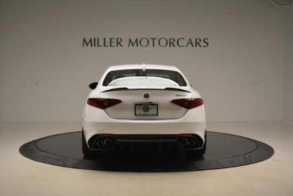 New 2018 Alfa Romeo Giulia Quadrifoglio for sale Sold at Bentley Greenwich in Greenwich CT 06830 6