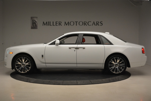New 2018 Rolls-Royce Ghost for sale Sold at Bentley Greenwich in Greenwich CT 06830 3