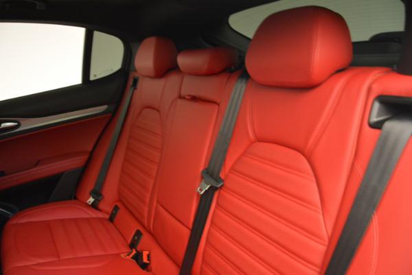 New 2018 Alfa Romeo Stelvio Ti Sport Q4 for sale Sold at Bentley Greenwich in Greenwich CT 06830 18