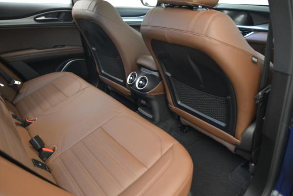 New 2018 Alfa Romeo Stelvio Ti Sport Q4 for sale Sold at Bentley Greenwich in Greenwich CT 06830 22