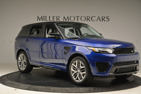 Used 2015 Land Rover Range Rover Sport SVR for sale Sold at Bentley Greenwich in Greenwich CT 06830 10