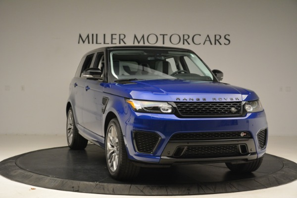 Used 2015 Land Rover Range Rover Sport SVR for sale Sold at Bentley Greenwich in Greenwich CT 06830 11