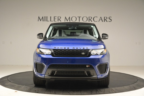 Used 2015 Land Rover Range Rover Sport SVR for sale Sold at Bentley Greenwich in Greenwich CT 06830 12