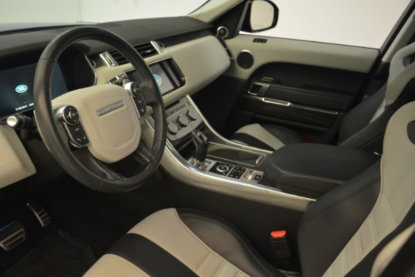 Used 2015 Land Rover Range Rover Sport SVR for sale Sold at Bentley Greenwich in Greenwich CT 06830 15